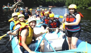 White water rafting with Scooter2