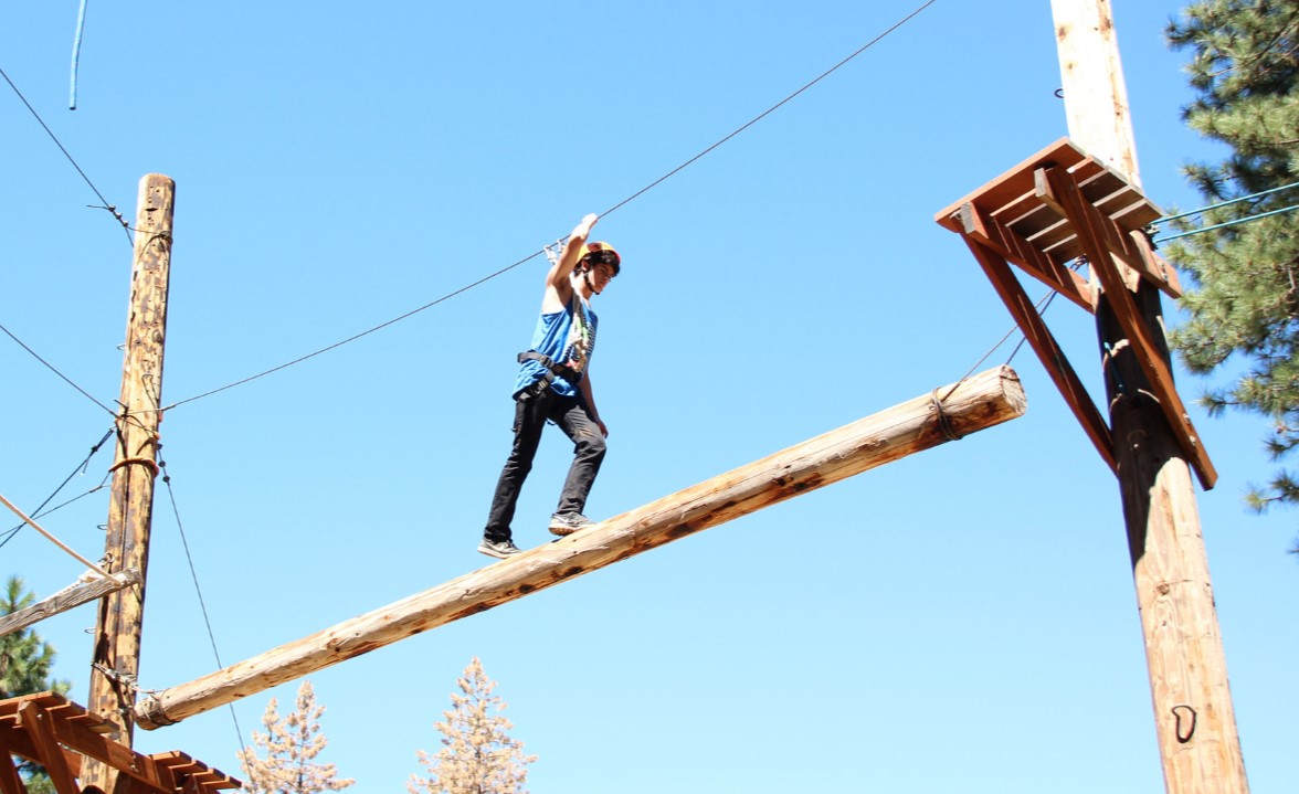 Amazing ropes course